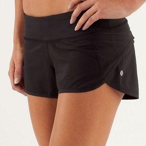 Lululemon Speed Shorts 🖤 Classic Black